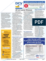 Pharmacy Daily for Wed 16 Apr 2014 - DoH on Lyme Disease, Partnership is the future, BPharm PSOTY award, Health Beauty and New Products and much more