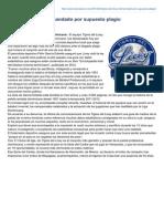Noticiassin.com-Tigres Del Licey Demandado Por Supuesto Plagio
