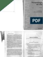 Psicopatologia Del Nino Marcelli Ajuriaguerra