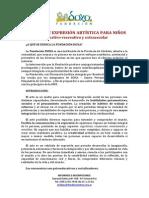 FUNDACION DOXA - TALLER DE EXPRESIÓN ARTÍSTICA PARA NIÑOS