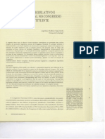 O processo legislativo e a produção na pós constituinte