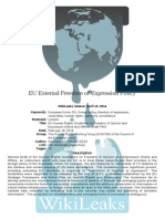 EU External Freedom of Expression Policy(1)