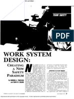 Work System Design - Creating a New Paragdigm