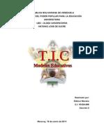 T.I.C MODELOS EDUC.