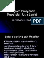 DMS1 - CHOP4 - K3.1 - Program Pelayanan Kesehatan Usia Lanjut