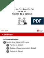 PMI - 10-GestionCalidad