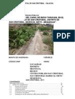Pip Canal de Riego Tarucani Final