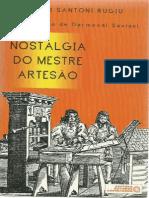 Nostalgia do Mestre Artesão.AntonioRugiu