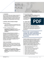 Kimball Office_Fundamentals of Workplace Strategy