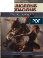 D&D 4th Edition - Player's Handbook 3