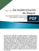 La tardía modernización de Ibagué