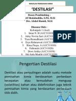 PPT destilasi