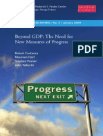 Beyond GDP - The Need for a New Measure of Progress 2009