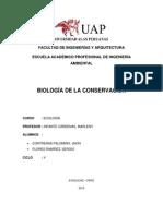 BIOLOGÍA DE LA CONSERVACIÓN
