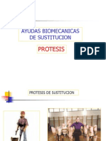 Ayudas Biomecanicas de Sustitucion