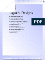 24 Taguchi Design