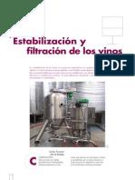 Filtracion de Vinos