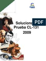 Solucionario CL- 131 2009