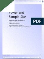 09 Power & Sample Size