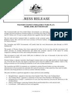 14-04-16 Western Sydney Infrastructure Plan
