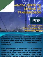 IMPEDANCIA SERIE DE LÍNEAS DE TRANSMISIÓN