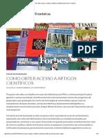 Como obter acesso a artigos científicos _ Bibliotecários Sem Fronteiras