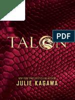 Talon by Julie Kagawa (Chapter Sampler)
