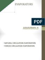 Types of Evaporator