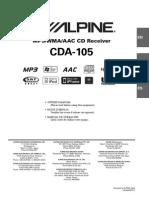 Alpine Ae Cda105
