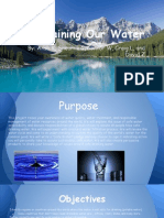 clean water - tech project