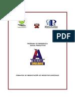 Formato de Presentacion de Proyectos Especiales