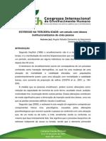 ESTRESSE NA TERCEIRA IDADE - um estudo com idosos institucionalizados de João Pessoa