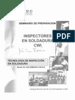 Inspectores en Soldadura CWI
