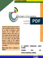 Informe Foro Habitat Yopal Casanare