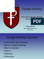 Google Hacking Without Faces