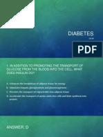 Diabetes type 1 and 2 nursing