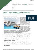 Medical Device Network-MIM