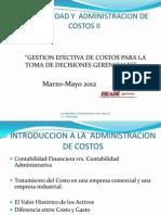 Presentacion Contabilidad de Costos