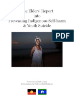 The Elders' Report  into  Preventing Indigenous Self-harm  & Youth Suicide