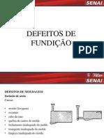DEFEITOS DE FUNDIÇÃO