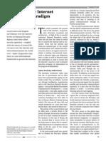 Evolving a New Internet Governance Paradigm