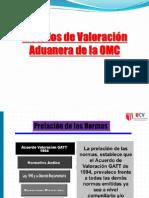 Semana 10. Metodos de Valoracion Aduanera de La Omc