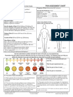 Pain Assessment Form