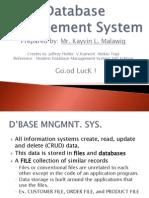Database Management SystemD2