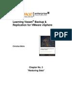 9781782174172_Learning_Veeam®_Backup_and_Replication_for_VMware_vSphere_Sample_Chapter