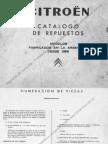 Catalogo de Repuestos 3cv 1969 en Adelante