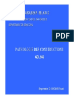 Pathologie Des Construction