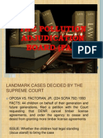 The Pollution Adjudication Board (PAB)
