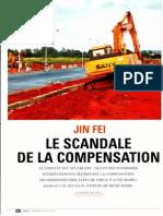 Jin Fei, le scandale de la compensation
