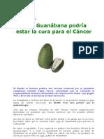 La Guanabana en La Cura Del Cancer